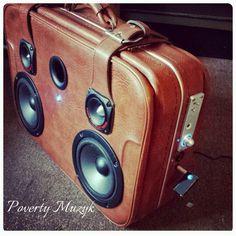 #PovertyMuzyk #Custom #stereo #hifi #audio #bluetooth #Chicago #boombox