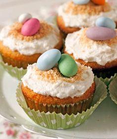 Grain-free Coconut Cupcakes