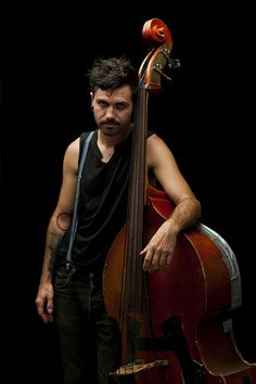 Barons Of Tang bassist. Photo by Benjamin Weatherston,