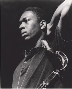 John Coltrane in Vintage 3 button Polo.  That man could play!