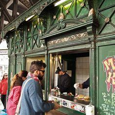 Burgermeister at U Schlesisches Tor, #Berlin More information: visitBerlin.com