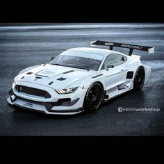 The new Mustang looks good in race trim from GT, GT350 to GT350R. Wide body panels, massive aero and slammed stance all look mean and ready to kill the track