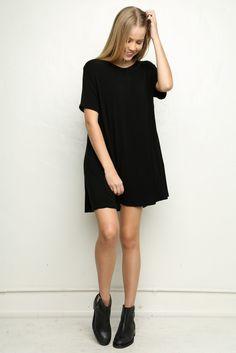CAREY DRESS - this dress just striped version