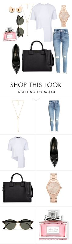 """Twenty One Pilots - Heathens ❤"" by turkishlove ❤ liked on Polyvore featuring Jacquie Aiche, Yves Saint Laurent, Karl Lagerfeld, Michael Kors, Ray-Ban and Christian Dior"