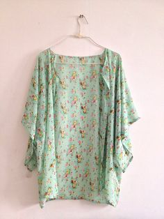 Floral kimono cardigans  wear your vacation by IslandandHoliday, $17.00