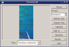 Screengrab captura de tela facilmente em qualquer ambiente gráfico no GNU/Linux