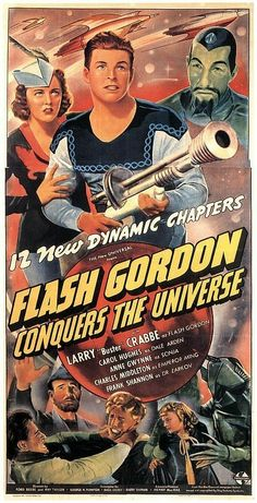 Flash Gordon Conquers the Universe (1936) Buster Crabbe
