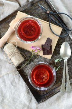 Pudding de chia au lait de coco, chocolat et orange sanguine {recette vegan et sans gluten}