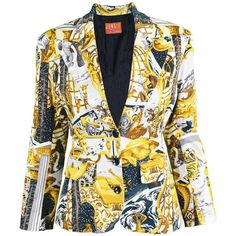 69ea671cb1102 Preowned Kenzo Baroque Mythology Print Jacket