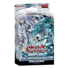 Yu-Gi-Oh! Saga of Blue Eyes White Dragon Structure Deck: Amazon.co.uk: Toys & Games