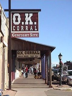 O.K. Corral - Tombstone, AZ - - Tombstone is one of my favorite places to go. ❤️ GOD BLESS YOU! Please Visit me at → https://www.pinterest.com/imjollyollie/