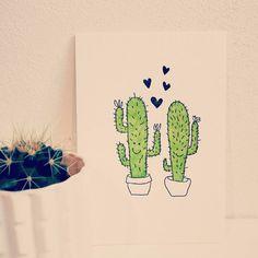 Cactus love! #almostvalentinesday #cactus #love #newin #postcard #cute #cactuslove #romance #valentinesday #handmade #cactusaddict #madeinbelgium #valentinescard #letterpress #livinglounge