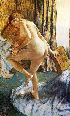 Edgar Degas  After the Bath  1883