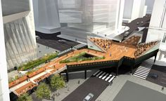 Concept for the future expansion of the High Line