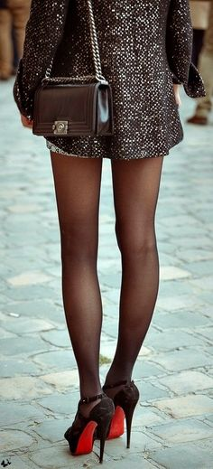 Say whatever you want - a pantyhose makes nice legs look sooooo sexy