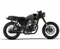 Projet Mash 75 seventyfive 125 en café racer made in bbmix