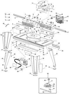 Ryobi table saw bt3000 users manual repurpose pinterest ryobi a25rt02 parts list and diagram ereplacementparts keyboard keysfo Gallery