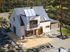 Projekt domu Neli W2 ENERGO PLUS - widok z góry