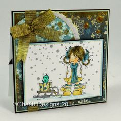 Christmas card by CheriB Designs