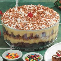 Gingerbread Trifle Recipe  I think this may be a Thanksgiving dessert this year!