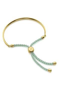 $102.37. MONICA VINADER Jewelry Engravable Fiji Friendship Bracelet #monicavinader #jewelry #bracelet #accessories Green Onyx, Silver Bars, Embossed Logo, Fiji, 18k Rose Gold, Harrods, Rose Gold Plates, Friendship Bracelets, Sterling Silver