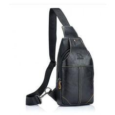 BELLUNO VALÓDI BŐR CROSSBODY - FEKETE Sling Backpack, Backpacks, Bags, Fashion, Handbags, Moda, Fashion Styles, Taschen, Fasion