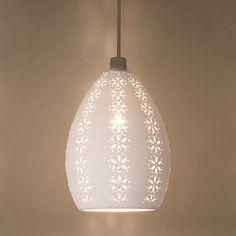 Buy John Lewis Easy-to-fit Jasmina Ceiling Shade Online at johnlewis.com
