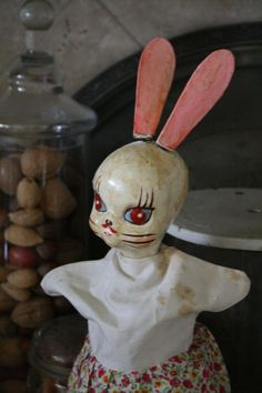 creepy cool bunny