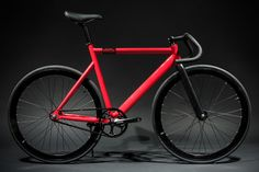 6061 Black Label - Red : Fixie Bikes | State Bicycle Co.