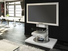 We are glad to offer you modern and useful RTV cabinet ROMA, designed for all types of flat screens – PLASMA, LED or LCD up to 55'' with max. weight up to 40kg.