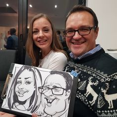Caricature at a party Caricatures, Party, Parties, Caricature, Caricature Drawing