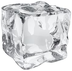 Ice Cube Transparent PNG Clip Art Image