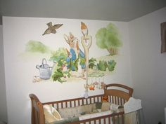 Beautiful 3258466_orig (600×450). Nursery MuralsWall MuralsNursery DecorNursery  IdeasBeatrix Potter ...