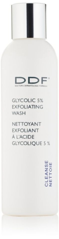 DDF Glycolic 5% Exfoliating Wash - If you have acne prone skin or breakouts here and there, this is an excellent facial cleanser! I reccomend for anyone with these issues