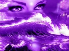 purple eyes - Fantasy & Abstract Background Wallpapers on Desktop . The Purple, Purple Art, All Things Purple, Shades Of Purple, Purple Stuff, Purple Flowers, Aqua Blue, Blue Green, Art Violet