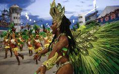 Carnival parades underway in Brazil