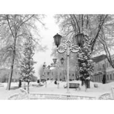 Snow city ❤ liked on Polyvore featuring backgrounds