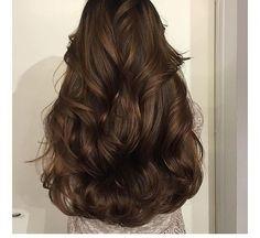 hair, brunette, chocolate brown hair, waves