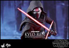Star Wars 7: l'action figure Hot Toys di Kylo Ren