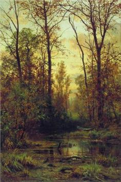 Forest.+Autumn+-+Ivan+Shishkin