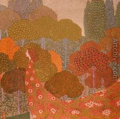 Spring, c.1911 - Vittorio Zecchin
