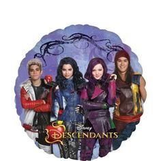 Disney Descendants Balloon 17in - Party City