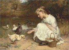 Frederick Morgan (1856-1927) - Pintor Inglês.