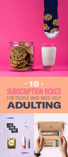 19 Subscription Boxes For People Who Need Help Adulting