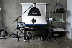Setting up a product photography studio - Overall Studio Setup