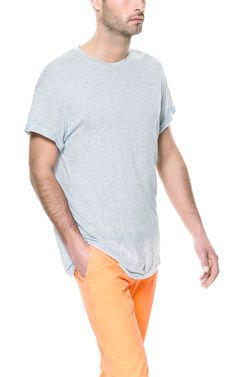 OVERSIZE T-SHIRT - T-shirts - Man - ZARA United States