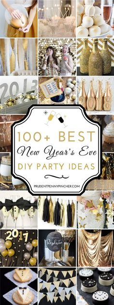 100 Best New Year's Eve Party Ideas - Silvester - Weihnachten Adult Christmas Party, Christmas And New Year, Holiday Parties, Christmas Holiday, New Year's Eve Celebrations, New Year Celebration, Nye Party, Festa Party, Eve Best