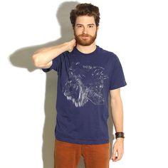 Camiseta 'The Wolf is King' - Catalogo Camiseteria.com | Camisetas Camiseteria.com - Estampa, camiseta exclusiva. Faça a sua moda!  Compre mais barato: http://oferta.vc/7@Vy