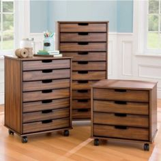 Mobile Storage Cabinets - Storage for Small Spaces