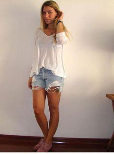 Jeans Shorts - Nati Vozza